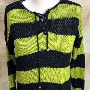 Michael Kors 100% cotton knit sweater